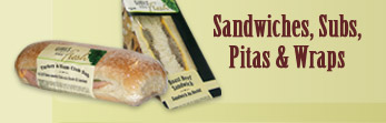 Sandwiches, Subs, Pitas & Wraps